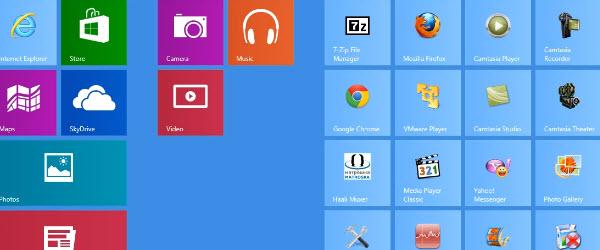Cum lansam aplicatiile Metro UI din interfata Desktop pe Windows 8 – tutorial video