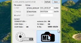 Instalarea Magic Lantern pe carduri SDXC de 64 GB sau mai mari – tutorial video