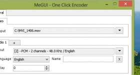 Megu, a program of excellent and fast video transcoding - video tutorial