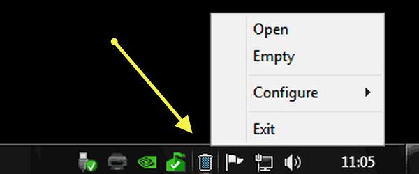 MiniBin, un cos de gunoi mai elegant pentru Desktop pe orice Windows – tutorial video