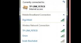 Digi Net Mobil zdieľanie cez bezdrôtové alebo káblové pripojenie k notebooky zariadenia - výukové video