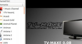 Maxe TV 0.08 installation on Ubuntu for TV stations - video tutorial