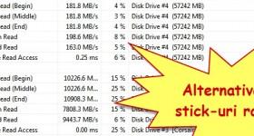 O dispositivo de armazenamento externo, SSD USB em um 3.0 cremalheira mais rápido - vídeo tutorial