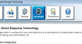 Intel Smart Response technology, higher speed for system and applications - video tutorial