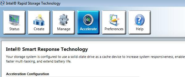Tehnologia Intel Smart Response, viteza mai mare pentru sistem si aplicatii – tutorial video