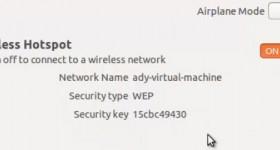 Cum sa ne facem un router wireless dintr-un laptop cu Ubuntu