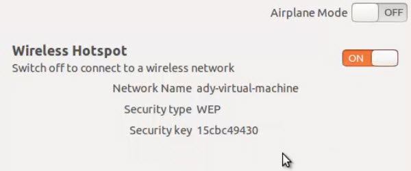 How to make our wireless router from a laptop with Ubuntu