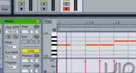 Ableton, музична композиція програми, перші удари