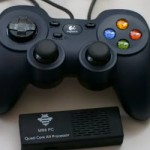 MK908 + + OnLive gamepad, console games on TV