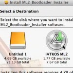 Livello 3 Hackintosh, bastone con MacOS per PC senza UEFI