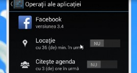 Nou in Android 4.3, modificarea permisiunilor folosite de aplicatii (App Ops)