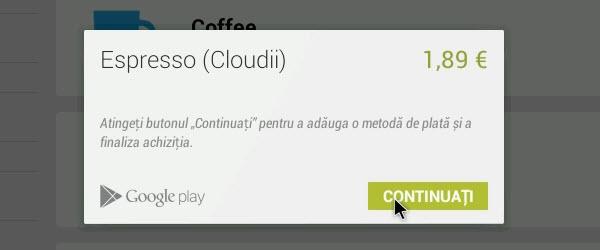 Tutorial despre cum se cumpara aplicatii din Google Play Store
