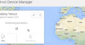 Android Device Manager permite stergerea datelor si localizarea telefonului