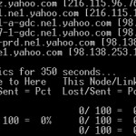 tracert와 네트워크 및 PathPing에 문제를 감지