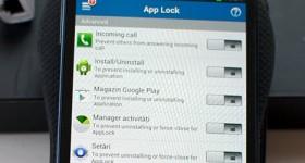 Paroleaza aplicatiile de pe telefon si tableta cu App Lock