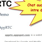 WebRTC, audio and video chat directly in the browser without any application