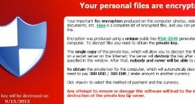 CryptoLocker, wie Desinfektions wie verhindern wir und erholen Sie Ihre Dateien