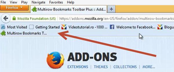 Cum adaugam doua sau mai multe bare de bookmark-uri in Firefox si Chrome