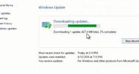 Čo je nové v webu Windows Update 1 8.1