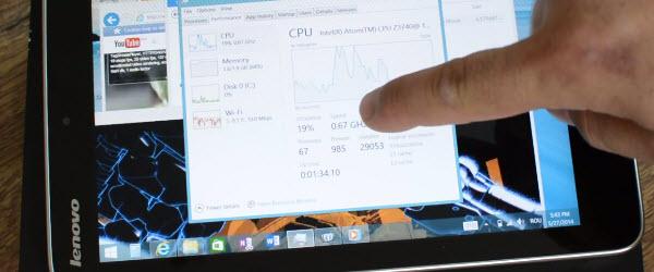 Cea mai ieftina tableta cu Windows 8.1 full