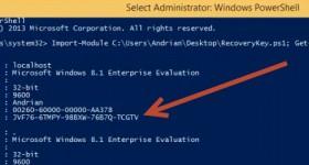 Cum recuperam cheia de licenta pentru activarea Windows 8 si 8.1