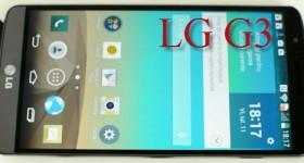 Prezentare LG G3, dusmanul de moarte al lui S5