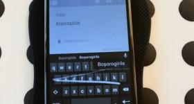 Tastatura oficiala Android cu dictionar si swipe in romana