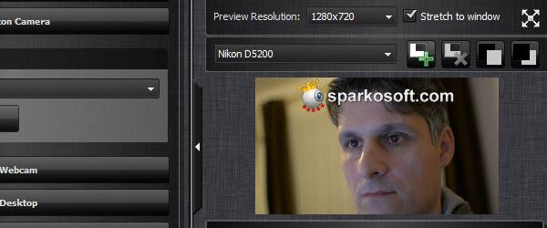 Use DSLR camera instead of webcam