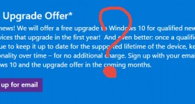 Gratis upgrade naar Windows 10 en Project Spartan