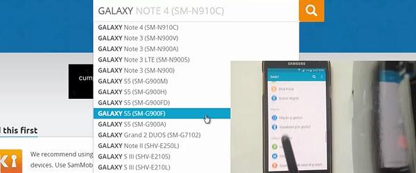 Samsung (any model) return to stock