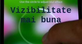 מסך BlurONE בצורה ברורה יותר על אנדרואיד