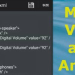 Ingrandire cuffie o il volume dell'altoparlante Android