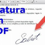 Signing free PDF printer and scanner