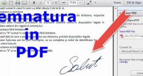 Sign PDF documents without printer and scanner