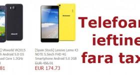 Magazin in Europa cu telefoane chinezești ieftine