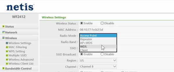 pojačanje Wi-Fi signal slab