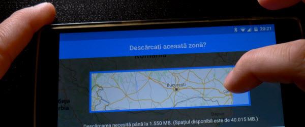 Muat turun peta luar talian Peta Google + Navigation tip