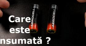 Como verificar com baterias de dispositivos alimentados