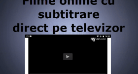 Filme online cu subtitrare direct pe tv videotutorial