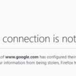 Problemen met de browser certificaat
