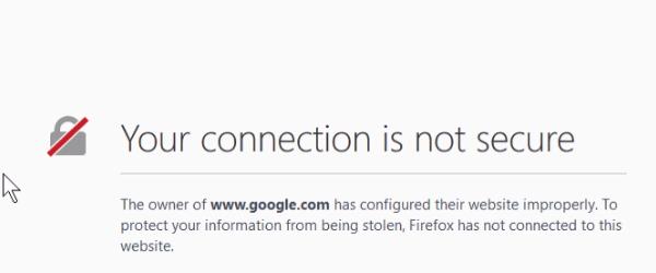 与浏览器证书问题