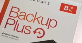 Seagate Backup Plus kajian 8TB