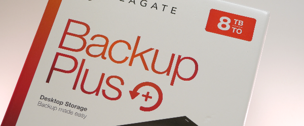 Seagate Backup Plus review 8TB