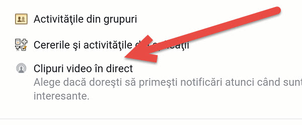Disable notifications clips directly to Facebook