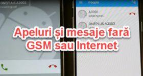 Zvani un ziņas bez GSM vai WiFi