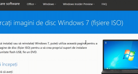 Windows nedlastingskoblinger ISO 7, 8 og 10