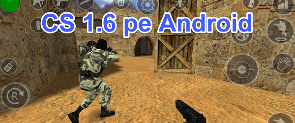Counter Strike 1.6 no Android, o jogo original no PC para o telefone