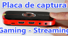 Gaming og Streaming capture card - AVerMedia Live-Gamer Portable
