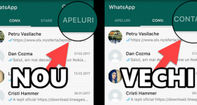Cum revenim la vechea interfață WhatsApp