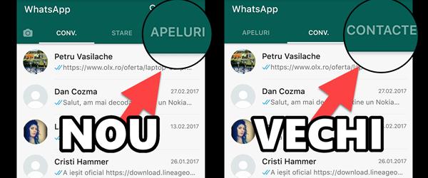 När vi återvänder till den gamla WhatsApp